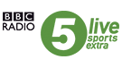 Logo for BBC Radio 5 Sports Extra