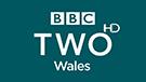 BBC TWO Wales HD channel logo