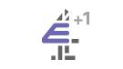 E4 +1 channel logo