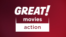 GREAT! movies action channel logo