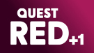 Quest Red +1 channel logo